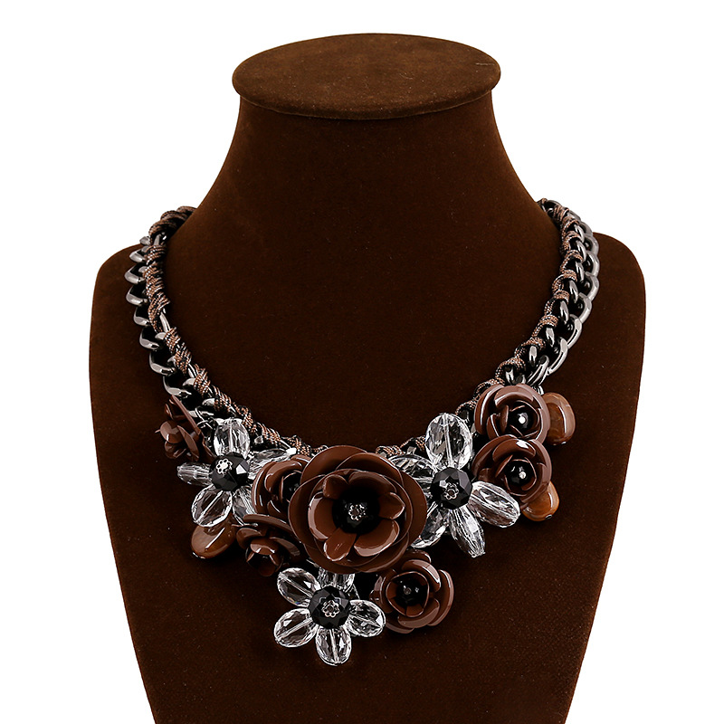Occident Alloy necklaces NHVA1222