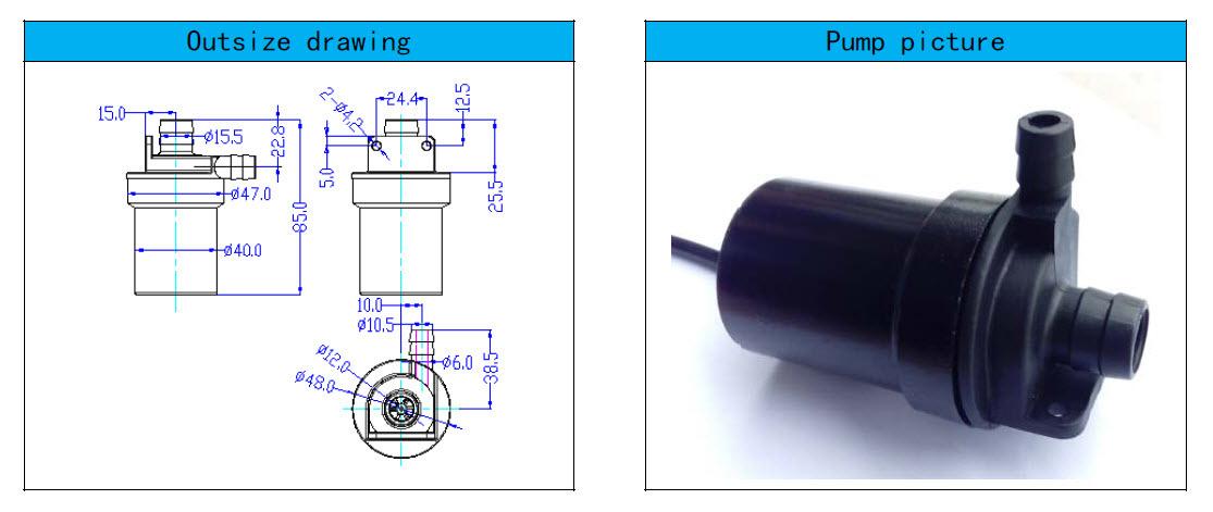 厂家供应CNC机床设备循环冷却液抽水泵直流无刷潜水泵 直流抽水泵