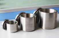 3款不同容积不锈钢球磨罐对比