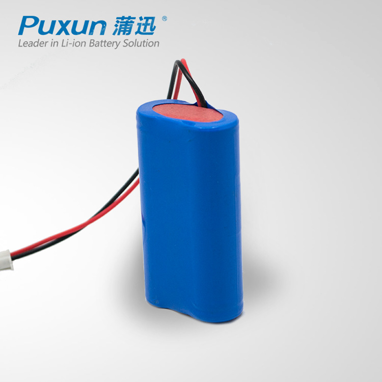 3.7V锂电池6600mah18650锂电池组