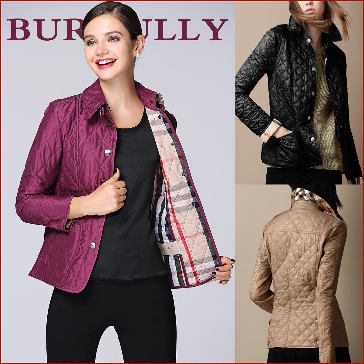 2014秋冬新款欧美大牌外贸原单 女式 修身短款棉外套 成熟女装