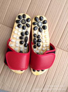 Manufacturers wholesale pebbles, agate, jade, foot massage slippers can be customized