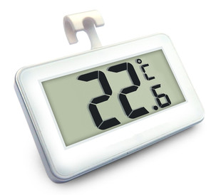 Household high-precision waterproof electronic thermometer, refrigerator thermometer, frost alarm