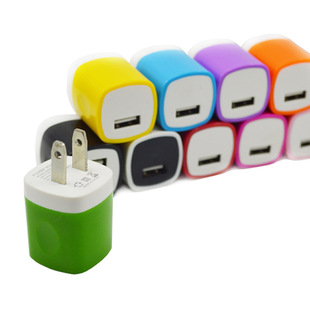 Suitable for Android smart phone charging head USB charging head foot 1A universal fingerprint charging head wholesale