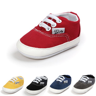 Spring men's and women's baby canvas shoes baby shoes soft sole toddler shoes rubber sole 1237