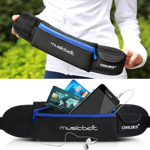 Outdoor fitness sports pockets, running and cycling pockets, anti-theft and sweat-proof mobile phone pockets, travel music pockets