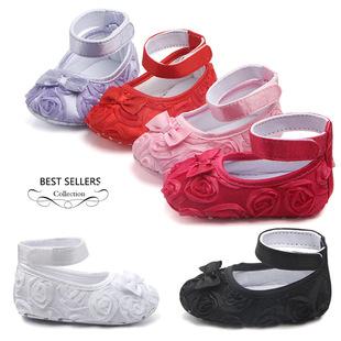 Внешняя торговля ребенок обувь источник товаров оптовая торговля твердый роз ребенок малыш обувь принцесса Туфли 0050