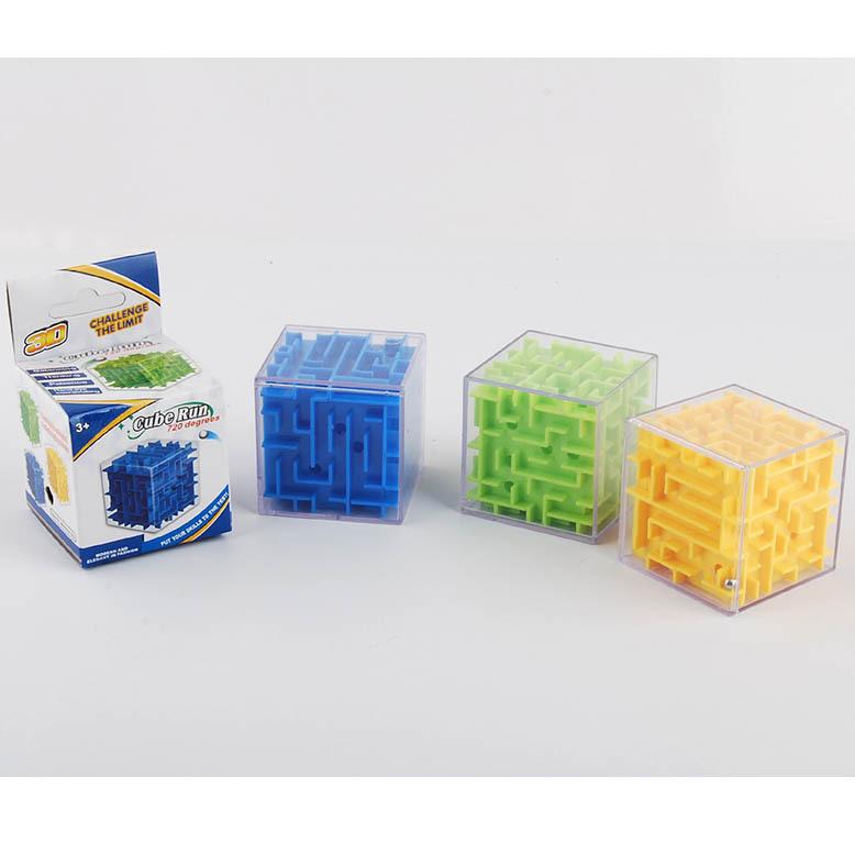 智力迷宫 立体迷宫 6CM立体迷宫 益智玩具3D迷宫