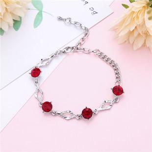 Korean version of hot couple bracelets, creative geometric jewelry girls temperament jewelry birthday gift factory wholesale