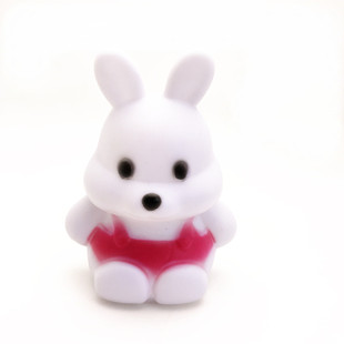 A098【Factory direct sales】Colorful Carrot Rabbit Night Light