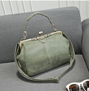 Foreign trade bags European and American big brand new women's bags, single-shoulder diagonal frosted women's bags, stray bags 086-1