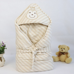 2021 new baby color cotton quilt autumn and winter thickened cotton baby quilt newborn quilted quilt wholesale
