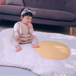 INS new egg crawling mat, children's game carpet, home decoration printing game mat