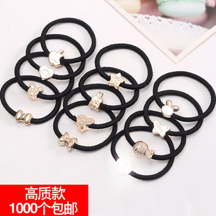 Hair band, new hair accessories, Korean version of hair rope, wild tie hair band, 2 yuan store source of goods, jewelry gifts