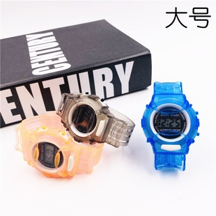 Student Watch Promotional Gifts Children's Jelly Watch Cartoon Boys and Girls Digital Watches Cross-border Explosions