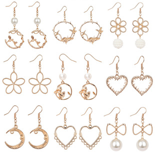 Collection of earring styles