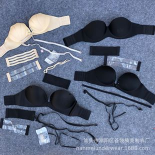 Beautiful back bra without steel ring bra new product lace bra gather sexy lingerie female bra wholesale