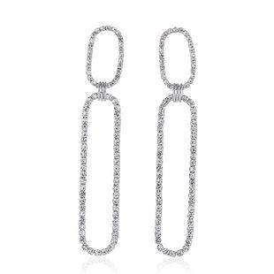 2021 new European and American copper diamond earrings female fashion S925 silver needle earrings wild temperament simple earrings wholesale