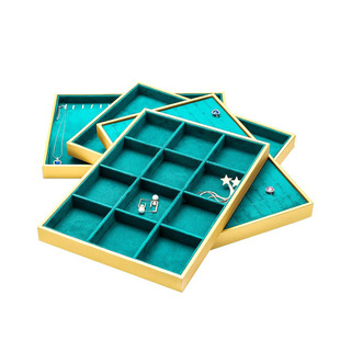 Jewelry Display Hanger Necklace Pendant Ring Storage Box Earring Earring Bracelet Jewelry Display Tray