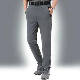Men's ice silk casual pants men's loose summer thin section trend wild stretch sports pants 2206