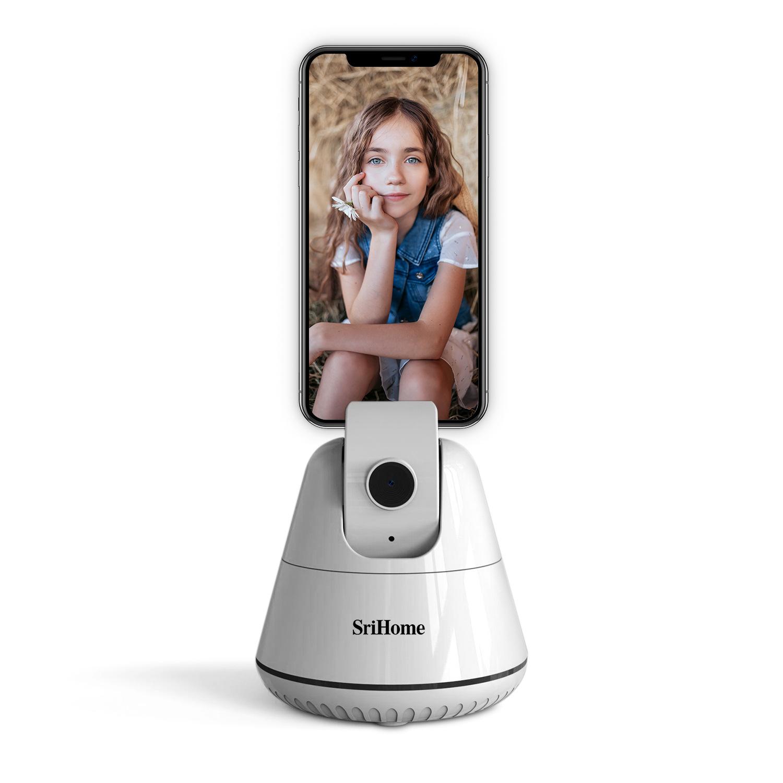 srihome Auto Face Tracking Object Tracking Holder AI camera