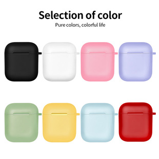 Suitable for AirPods Apple earphone sleeve tpu soft rubber protective sleeve Wireless earphone protective sleeve
