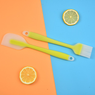Factory wholesale silicone brush oil brush integrated silicone spatula baking tool barbecue brush oil sweeping brush wholesale