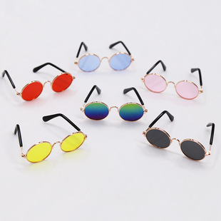 Pet dog, cat, sunglasses, cool and handsome accessories, sunglasses, small and medium-sized dog sunscreen glasses, multi-color optional