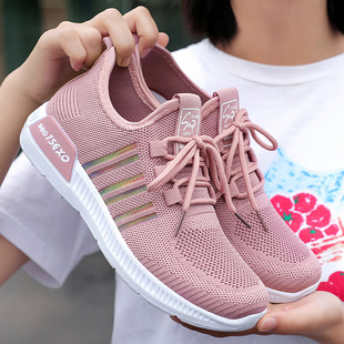 Shoes women 2021 new cross-border foreign trade women's shoes breathable mesh running shoes casual shoes sports shoes women