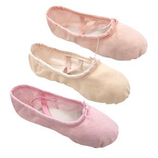 Wholesale dance shoes, children's exercise shoes, cat's claw shoes, adult ballet shoes, exercise shoes, dance soft-soled cute buddies dancing shoes