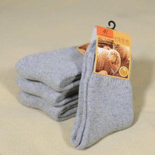 Шерстяные носки сын зима случайный утолщённый мужчина носок теплый многоцветный шерстяные носки на открытом воздухе восхождение снег мужской в носки